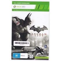 Batman Arkham City Xbox 360 Game Card Envio Imediato