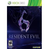 Resident Evil 6 Xbox 360 Em Português Mídia Física