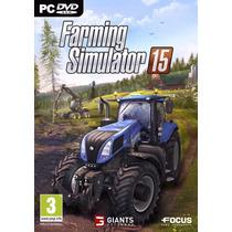 Farming Simulator 2015 Em Português Pc +brindes=todas Dlcs