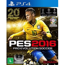 Pes 16 Ps4 Pes 2016 Pro Evolution Soccer 2016 Português -ps4