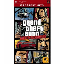 Jogo Grand Theft Auto Liberty Stories City Para Psp A5723