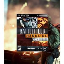 Battlefield Hardline Ps3 Código Psn Lançamento 17/03