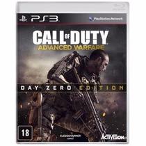Call Of Duty- Advanced Warfare Day Zero Edition Novo/lacrado