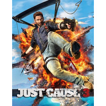 Just Cause 3 Pc - Cd Key Steam 100% Original