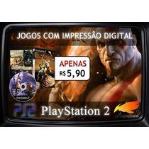 Patchs / Jogos De Playstation 2 Ps2 *coleção Completa*