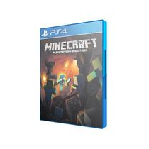 Jogo Minecraft - Mojang Ps4 Original Lacrado