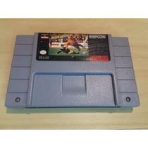 Soccer Shoutout - Original - Super Nintendo - Futebol