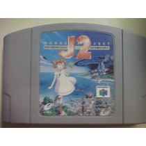 Fita De N64 J2 Wonder Project Nintendo