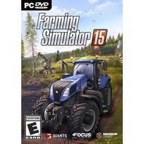 Jogo Novo Lacrado Farming Simulator 15 Para Pc