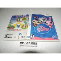 Littlest Pet Shop Original Completa P/ Wii - Frete 8