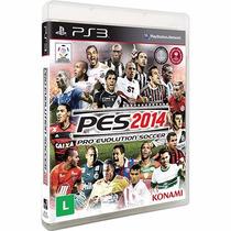 Pes 2014 Pro Evolution Soccer - Ps3 - Lacrado