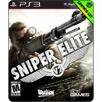 Sniper Elite V2 - Ps3 Psn - Gamesgo