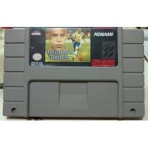 Fita Ronaldinho 98 De Snes Cartucho Super Nintendo Futebol