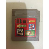 Jogo Nintendo Gameboy Color Advance Gb Gbc Gba 118 Em 1