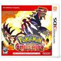 Pokemon Omega Ruby - Nintendo 3ds - Lacrado / Novo !!!