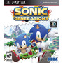 Sonic Generations Jogo Ps3 Original Lacrado