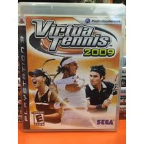Jogo Virtua Tennis 2009 Ps3 - Jogo Original Lacrado