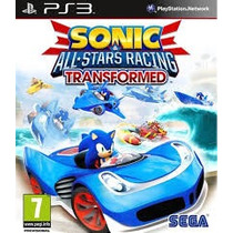 Jogo Ps3 Sonic E All-stars Racing Transformed Novo Lacrado