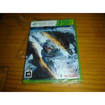 Xbox360 Xbox Metal Gear Rising Novo Original Frete 6r$