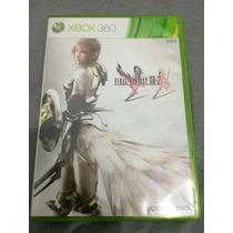 Final Fantasy Xiii-2 Xbox 360 13 Parte 2 Impecável Sem Risco