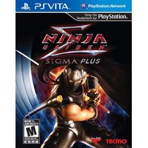 Psvita Jogo Ninja Gaiden Sigma Plus Ps Vita