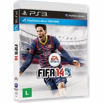 Fifa 2014 Ps3 Mídia Fisica Novo Original Lacrado