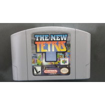 Fita The New Tetriz 100% Original Nacional Nintendo 64