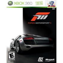 Jogo Xbox 360 - Forza Motorsport 3 - Europeu - Usado