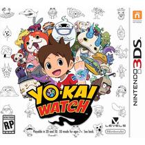 Yo-kai Watch Nintendo 3ds / 2ds Novo! Lacrado Pronta Entrega