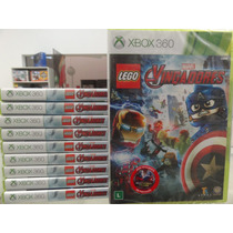 Lego Marvel Avengers Xbox 360 Mídia Física