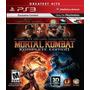 Jogo Novo Mortal Kombat Komplete Edition Para Playstation 3
