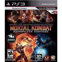 Mortal Kombat 9 Complet Edition Ps3 Psn Midia Digital Pt-br