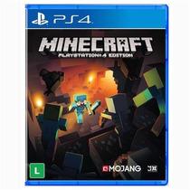 Jogo Para Ps4 Minecraft Midia Fisica Original Lacrado