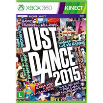 Just Dance 2015 X360 Lacrado, Português, Midia Fisica