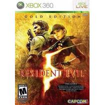 Resident Evil 5 Gold Edition Xbox360 Novo Lacrado