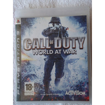 Call Of Duty World At War Ps3 Midia Fisica Envio Imediato