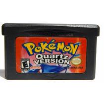 Pokemon Quartz Version Salvando Nintendo Ds Game Boy Advance