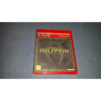 The Elder Scrolls Oblivion Game Of The Year Edition Goty Ps3
