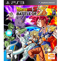 Playstation 3 - Dragon Ball Z: Battle Of Z