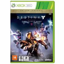 Destiny The Taken King Edição Lendária - Xbox 360 Rcr Games