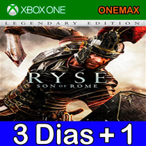 Aluguel - Ryse Son Of Rome Xbox One
