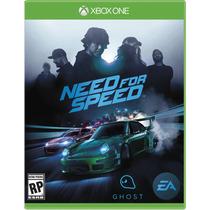 Need For Speed Xbox One Pre Venda Midia Fisica Novo