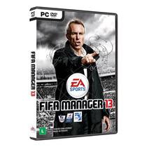 Jogo Fifa Manager 13 Para Pc Original E Lacrado