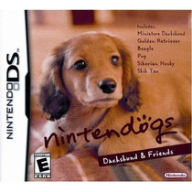 Lacrado Original Nintendodogs Dacksh Nintendo Ds Dsi Xl 3ds