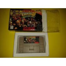 Jogo Donkey Kong 2 Original Com Caixa Para Super Nintendo