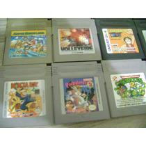 Lote De Jogos De Game Boy Classico Preço Por Jogo Mario Poke