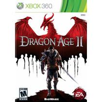 Jogo Dragon Age 2 Xbox 360 Midia Fisica Lacrado Nota Fiscal