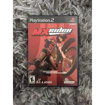 Novo Jogo Mx Rider Original Ps2 Caixa Manual 100%