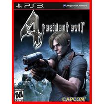 Resident Evil 4 Ps3 Psn Promocao + Brinde!!