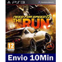 Need For Speed The Run Ps3 Código Psn